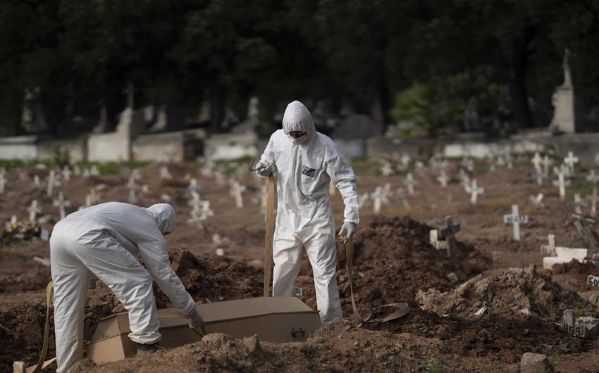 Braziliyada koronavirusa yoluxanların sayı 4 milyonu ötüb