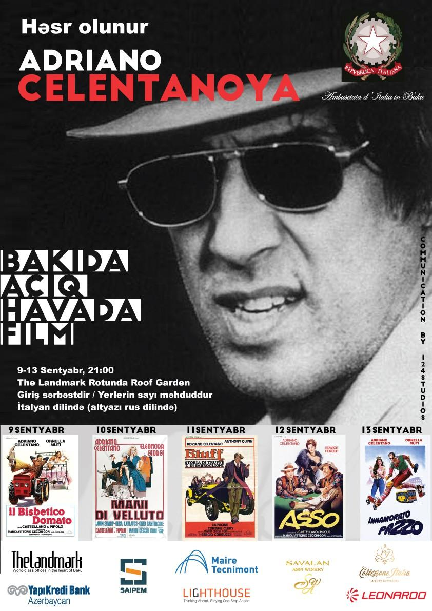 80th anniversary of Adriano Celentano to be held in Baku