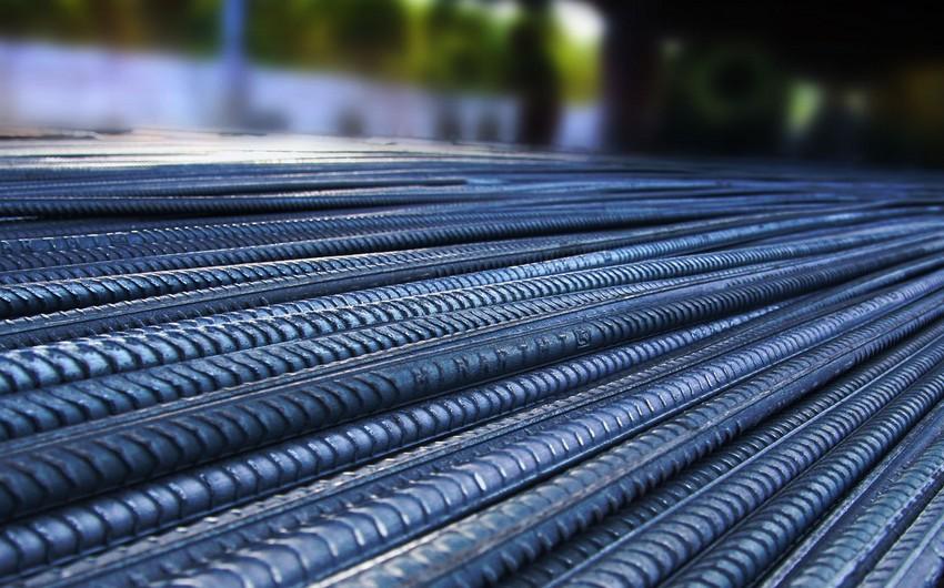 Azərbaycan qara metalların idxalını 47 %-dən çox azaldıb