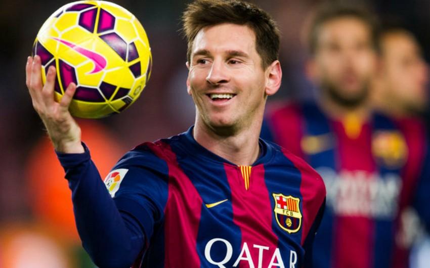 Lionel Messi ilin ən yaxşı futbolçusu seçilib