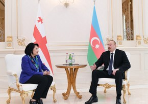 Ilham Aliyev expresses condolences to his Georgian counterpart
