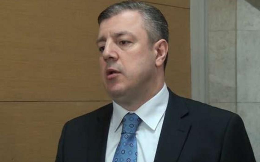 Gürcüstanın baş naziri: Qazprom mövzusu bitib