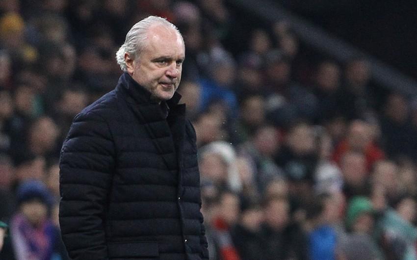 Главный тренер выступающего в Премьер-лиге России клуба подал в отставку