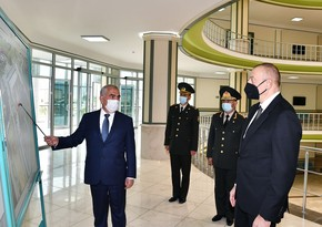 President Ilham Aliyev attends opening of Nakhchivan Garrison Central Hospital