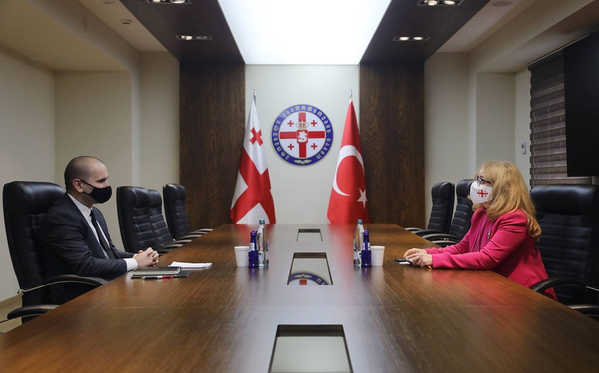 Gürcüstan və Türkiyə regional təhlükəsizliyi müzakirə edib