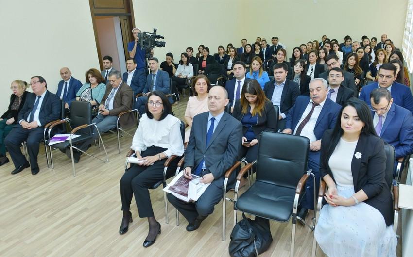 Ədliyyə Nazirliyində Nəsimi yaradıcılığına həsr olunan ədəbi-bədii tədbir keçirilib