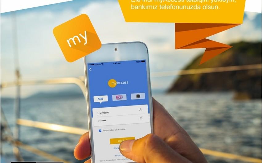 myAccess mobil bankçılıq tətbiqi istifadəyə verilib