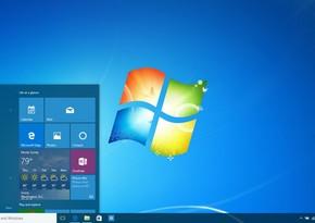 """Azərbaycandakı kompüterlərin 42 %-də hələ də """"Windows 7"""" istifadə olunur"""