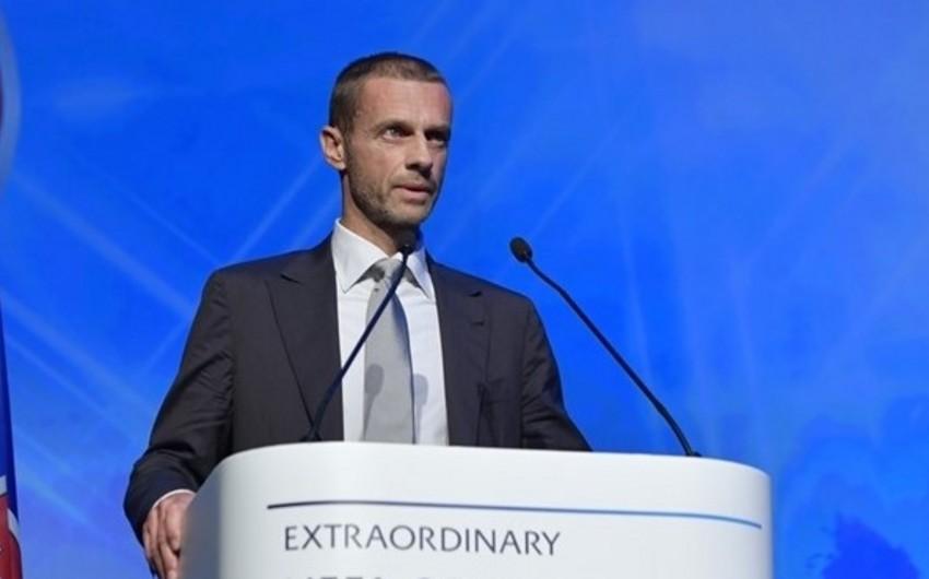 UEFA prezidenti Qəbələnin oyununu izləyəcək