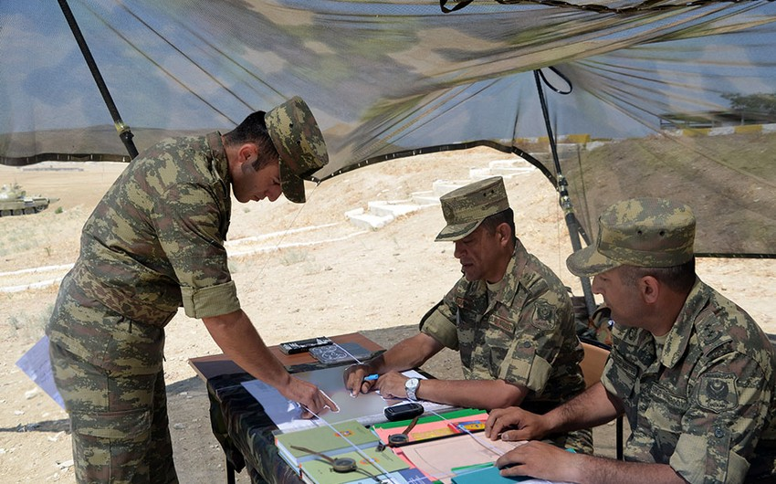 В Азербайджанском высшем военном училище проведены госэкзамены - ВИДЕО