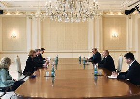 Ilham Aliyev receives UK Minister for European Neighbourhood and Americas