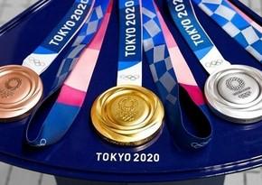 Azərbaycan Tokio olimpiadasını 7 medalla başa vurub