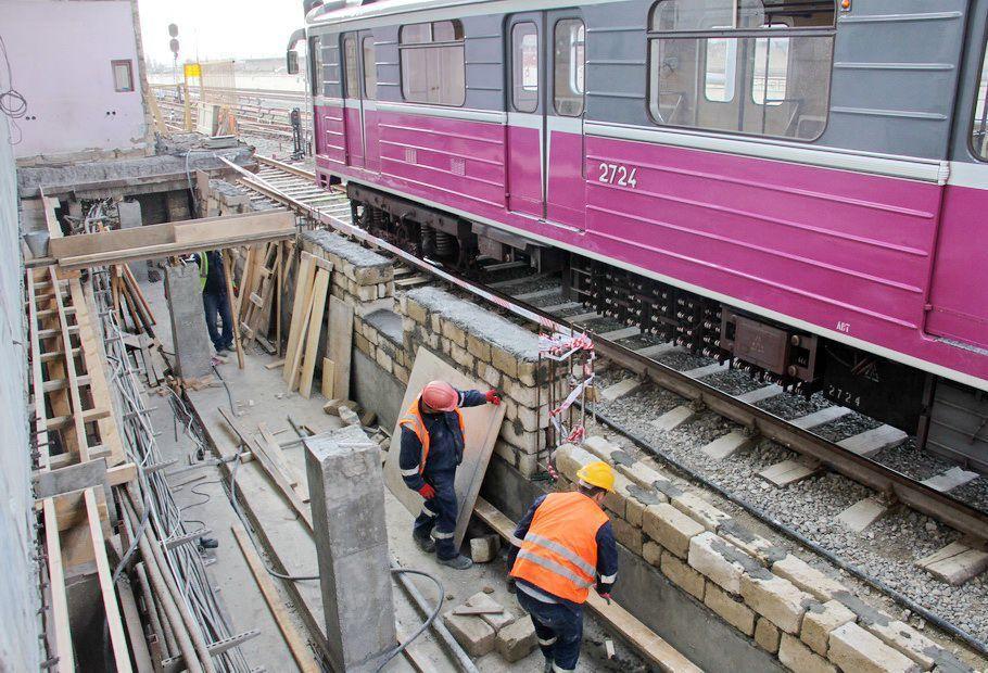С завтрашнего дня вход-выход на станцию метро Бакмил временно ограничивается