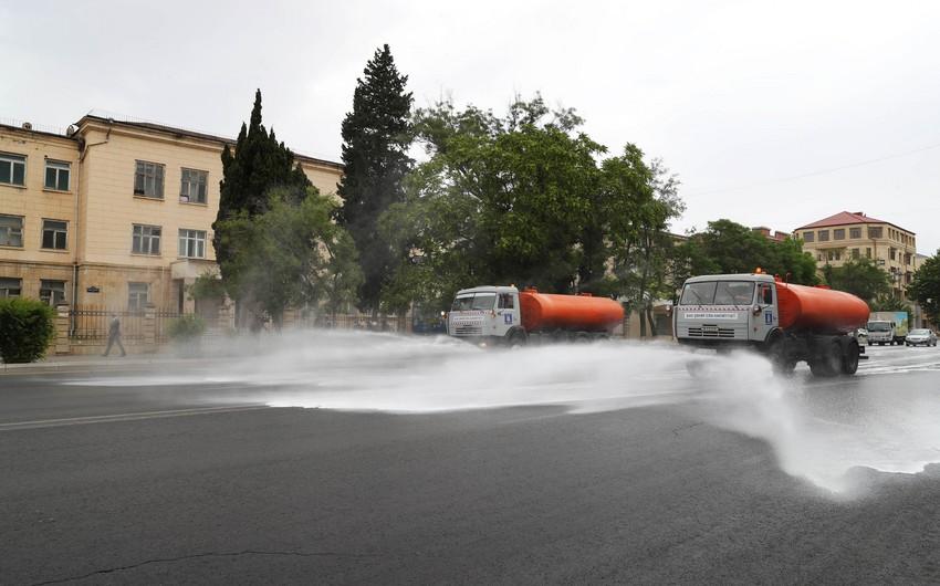 Baku to sterilize streets amid COVID-19