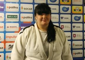 Qadın cüdoçumuz Avropa çempionatında gümüş medal qazandı