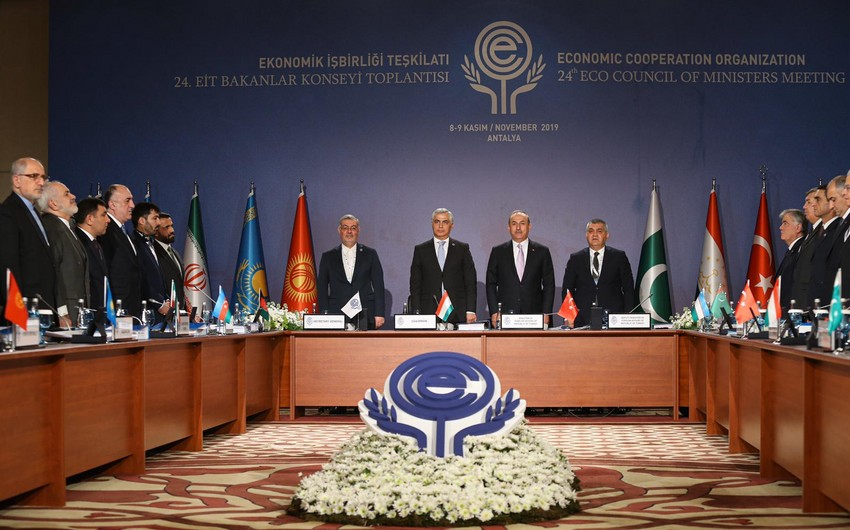 24th Meeting of ECO Council of Ministers begins in Antalya - PHOTO