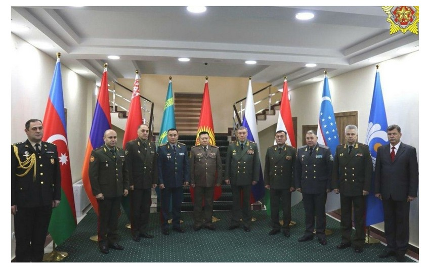 Azərbaycan MDB ölkələri Baş Qərargah rəislərinin iclasında iştirak edir