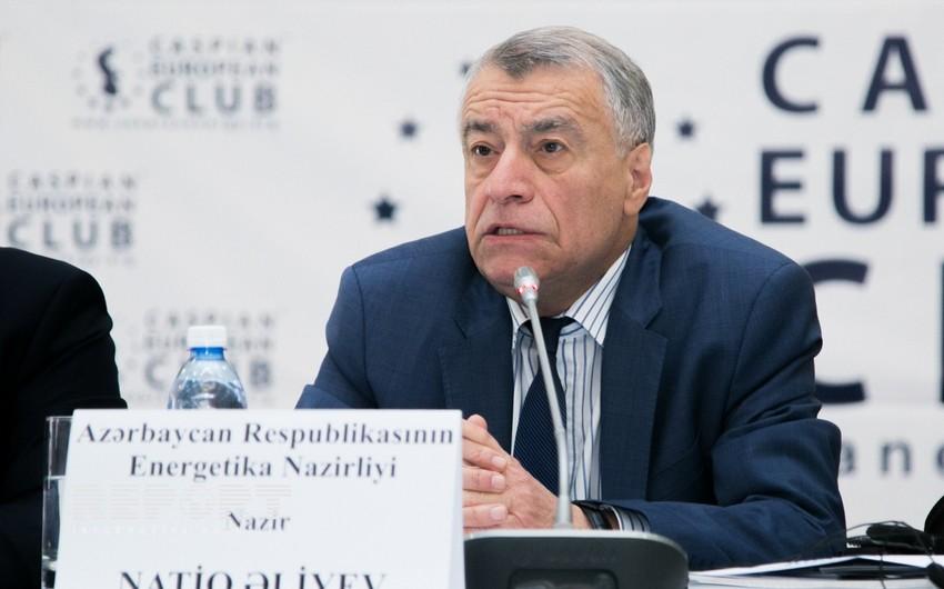 Azərbaycanın energetika naziri Moskvaya gedir