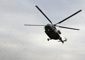 Rusiyada helikopter radardan itib