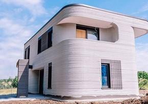 Almaniyada ilk 3D yaşayış evi istifadəyə verilib