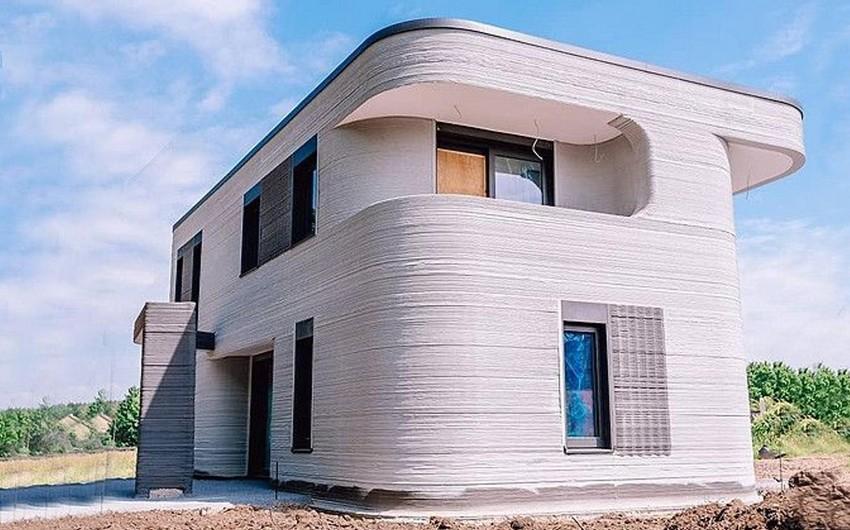 Bu ölkədə ilk 3D yaşayış evi istifadəyə verilib-