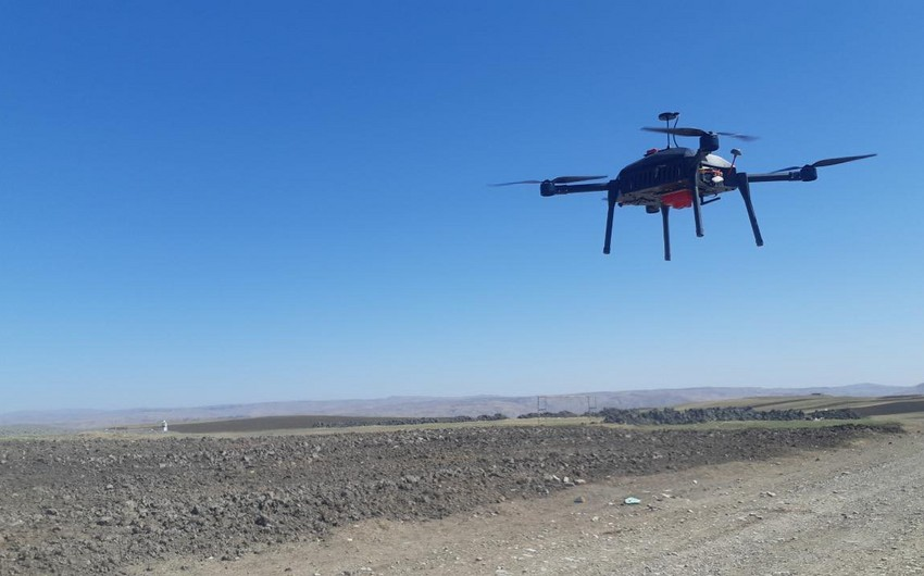 Bakıda hazırlanan dronların sınaq uçuşları həyata keçirilib