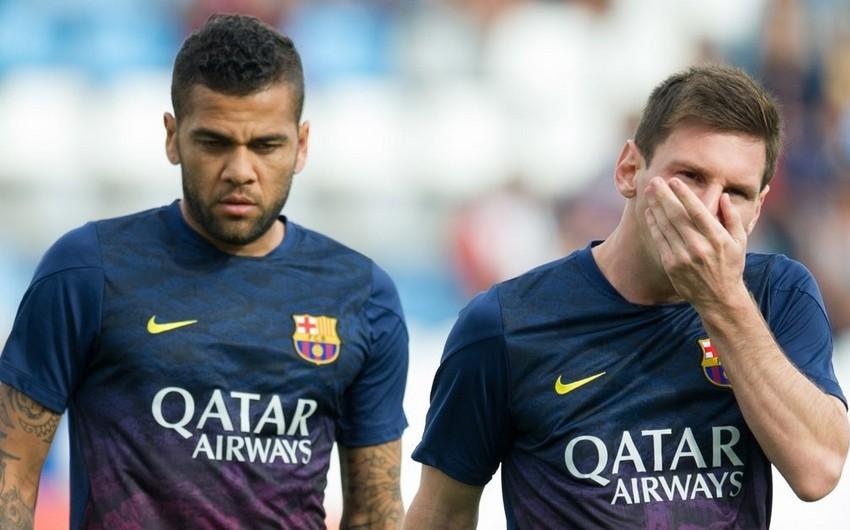"""Dani Alves: """"Messi bütün braziliyalılara hörmətsizlik etdi"""""""