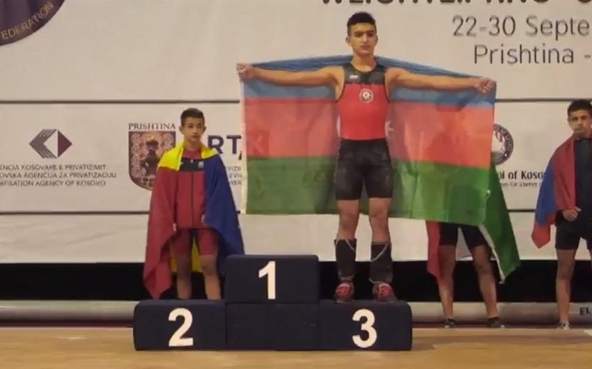 Azərbaycan təmsilçisi ağır atletlər arasında Avropa birinciliyinin bürünc mükafatçısı olub