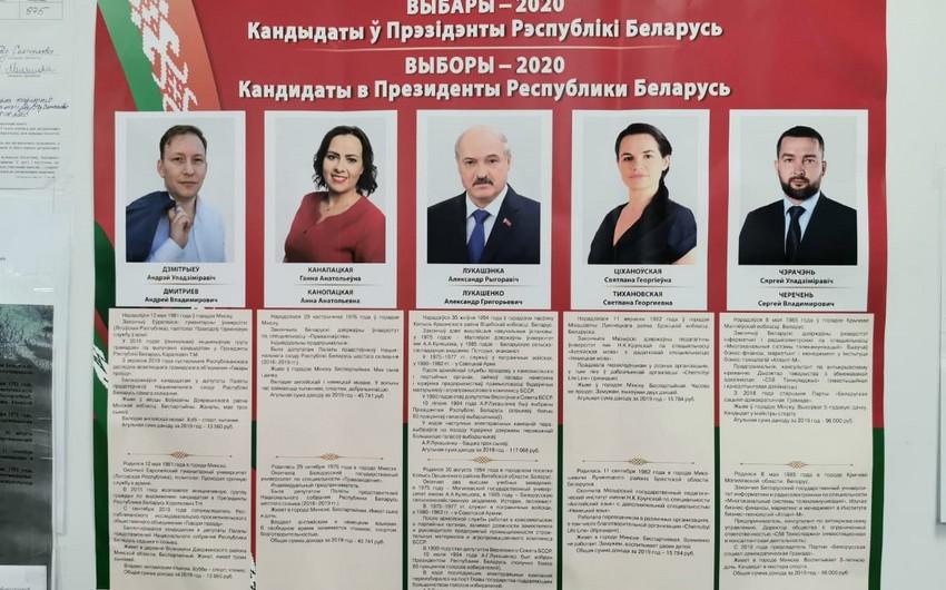Exit poll: Lukaşenko seçkilərdə qalib gəlib