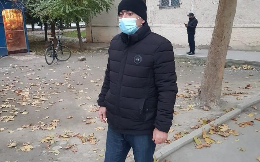 Mingəçevirdə taksi fəaliyyəti ilə məşğul olan COVİD-19 xəstəsi saxlanılıb