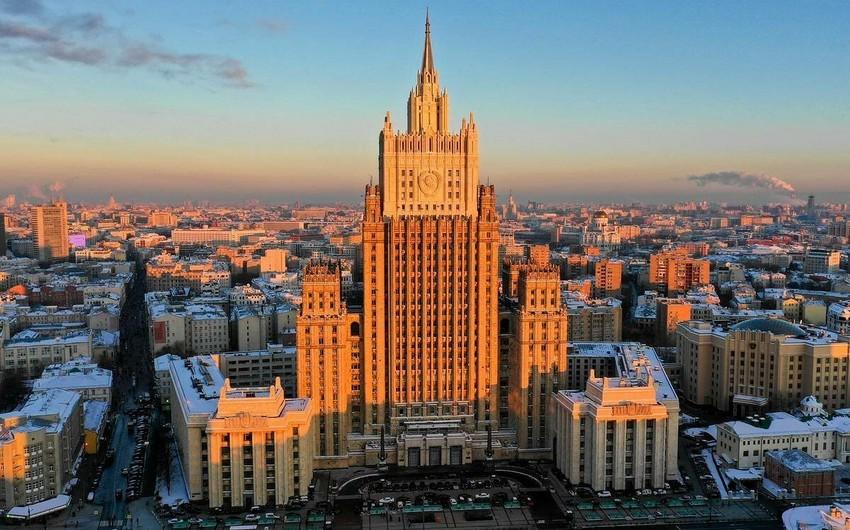 Rusiya XİN: Qarabağda prioritet üçtərəfli bəyanatların icrasıdır