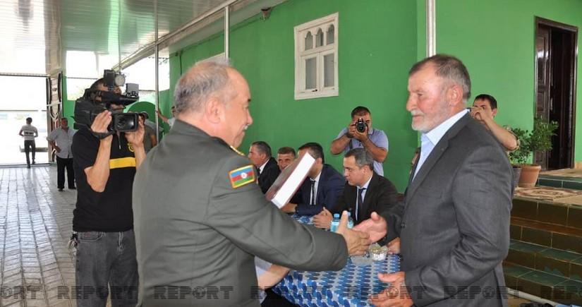 Biləsuvarda Milli Qəhrəman Mübariz İbrahimovun xatirəsi anılıb - FOTO