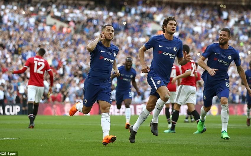 Челси победил Манчестер Юнайтед в финале Кубка Англии - ВИДЕО