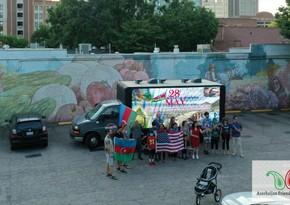 День Республики Азербайджанаотметили в американском городе Роли