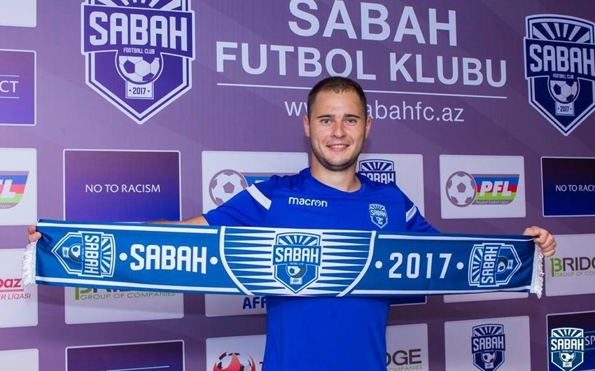 Sabah klubu ukraynalı futbolçu ilə müqavilə bağlayıb