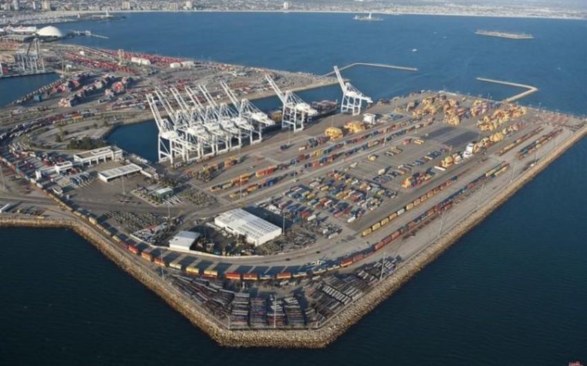 Bakı Limanında yükaşırma 23% artıb