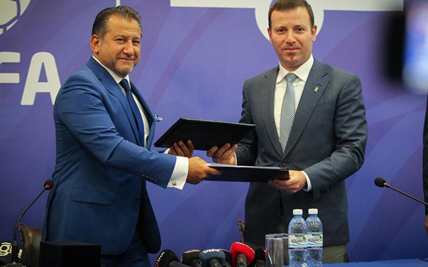 AFFA Türkiyənin məşhur geyim brendi ilə sponsorluq müqaviləsi imzaladı