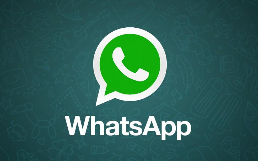 WhatsApp fəaliyyətini bərpa edib - YENİLƏNİB