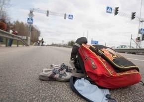 Автомобиль сбил подростка в Сабаильском районе Баку