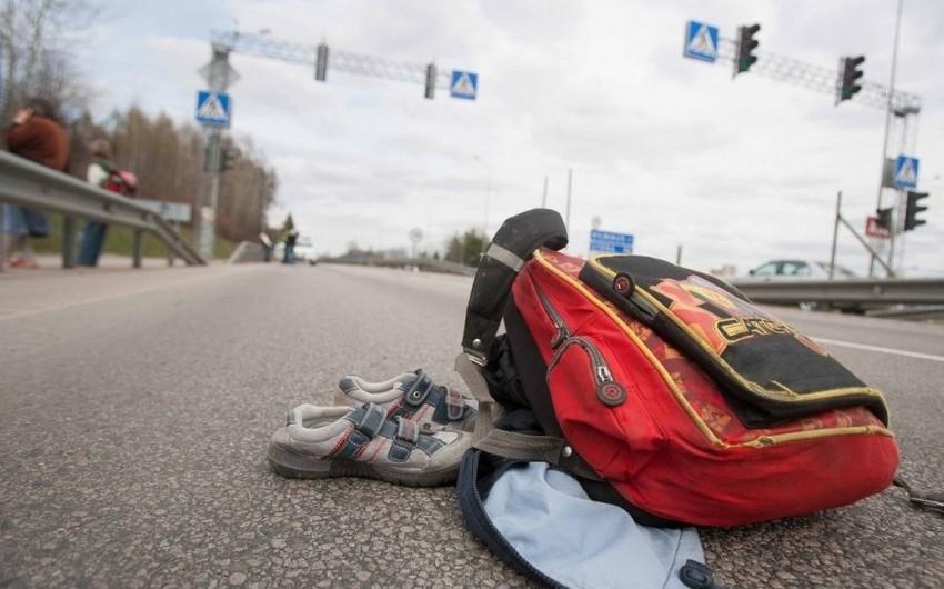 В Шеки автомобиль сбил 9-летнего ребенка