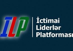 """""""İctimai Liderlər Platforması"""" həmsədr ölkələrin liderlərinə müraciət edib"""
