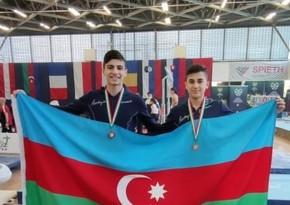 Азербайджанские гимнасты завоевали в Венгрии две медали