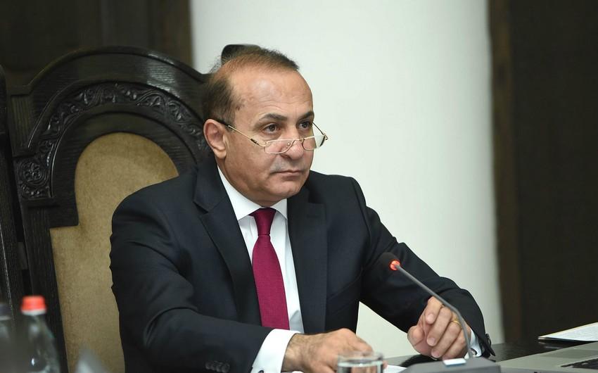 Ermənistanın keçmiş baş naziri hakim partiyadan istefa verib