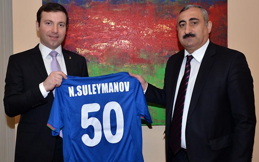 AFFA Nazim Süleymanovu təbrik edib