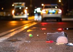 Bakı-Şamaxı yolunda avtomobil 34 yaşlı qadını vurub