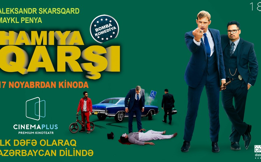 """""""CinemaPlus""""da ilk dəfə kriminal komediya filminin peşəkar Azərbaycan dublyajı"""