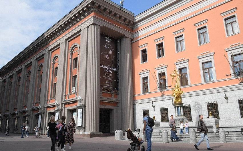 Moskvanın məşhur teatrı Azərbaycana səfərə gəlib