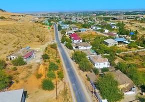 Şabran-Əmirxanlı-Qazbabalı avtomobil yolu yenidən qurulub