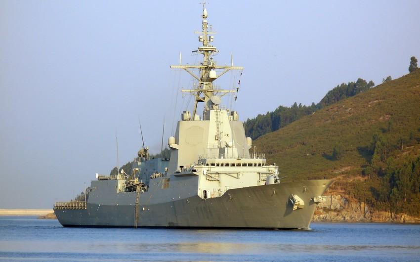 İspaniya gəmisini ABŞ-ın Körfəzə göndərdiyi donanmadan geri çağırıb