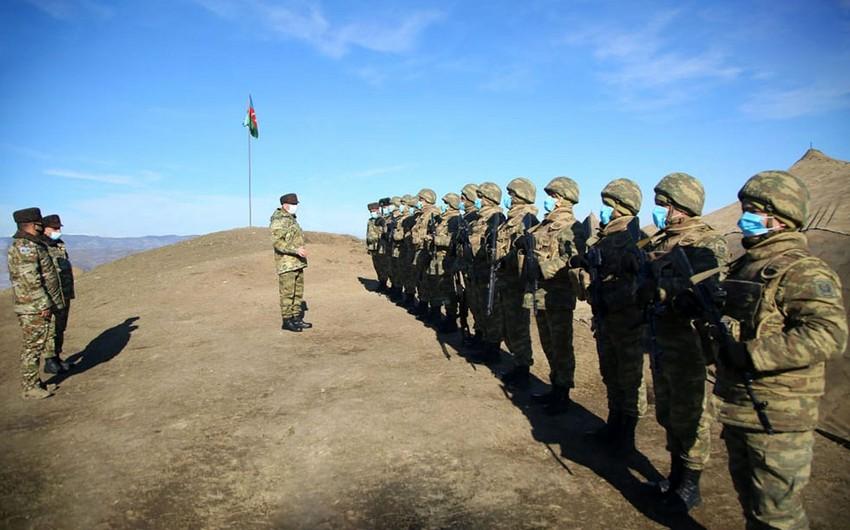 Министр обороны Азербайджана посетил освобожденные территории